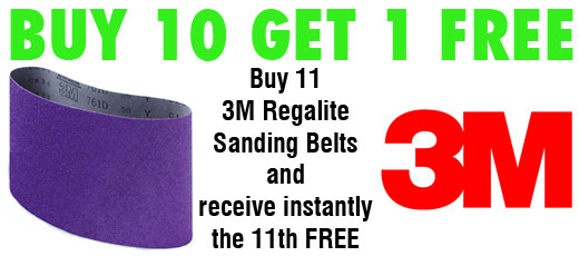 3m Regalite sanding belt