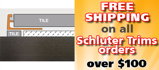 Schluter Systems Trims