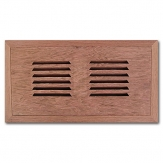 Brazilian Cherry Flush Mount Vents