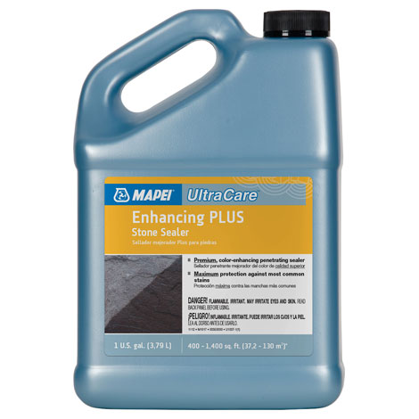Mapei UltraCare Enhancing Plus Stone Sealer 1 gal 00353000