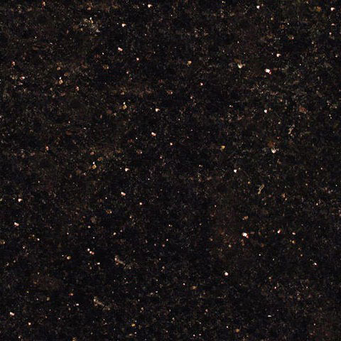 12x12 Black Galaxy Granite