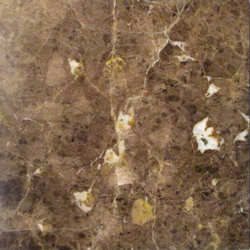 16x16 Marron Imperial Marble Tile