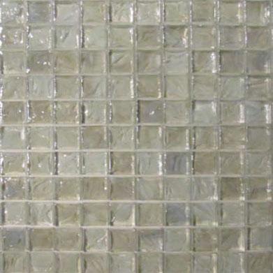 1 X1 Gl Bloom White Mosaic Tile