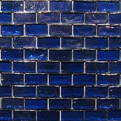 Glass Mosaic GL-Blue-3 1x1