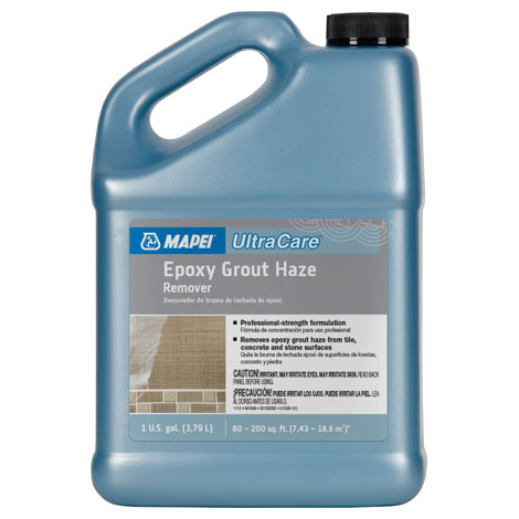 Mapei Cleaners Mapei UltraCare Epoxy Grout Haze Remover Gal - Epoxy stone flooring reviews
