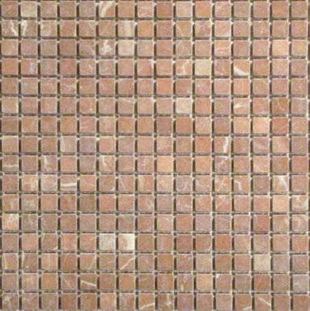 5 8x5 8 Rojo Alicante Marble Mosaic