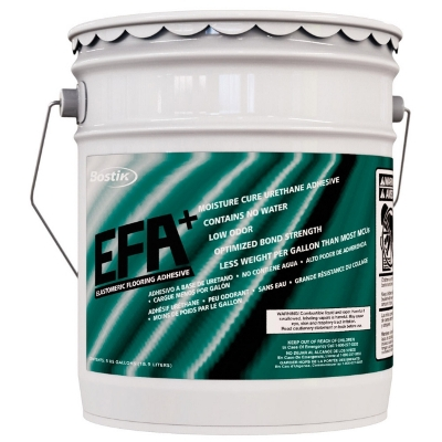... Bostiku0027s EFA+ Urethane Wood Floor Adhesive 5 Gal