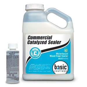 Commercial Catalyzed Sealer 1 gal