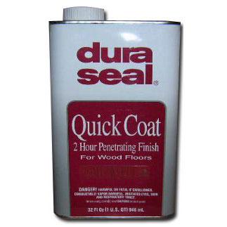 DuraSeal Quick Coat Penetrating Finish 112 Golden Oak Hardwood Flooring Stain 1 qt