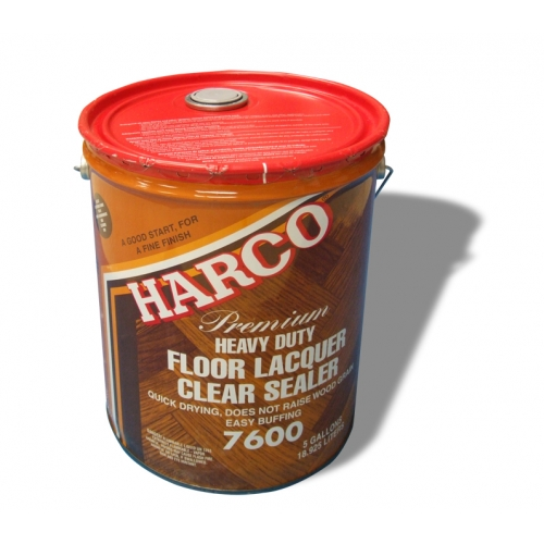 harco poly : harco 7600 wood flooring heavy duty lacquer sealer 5