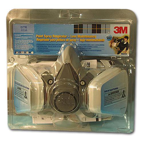 3M Half Facepiece Assembly Paint Spray/Pesticide Respirator R6211 (54251)