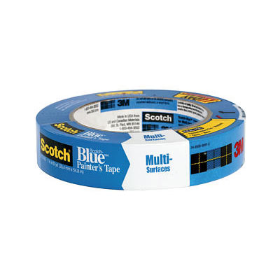 3M Scotch-Blue Painters Tape 2090 for Multi-Surfaces, 03681, 1 in x 60 yd