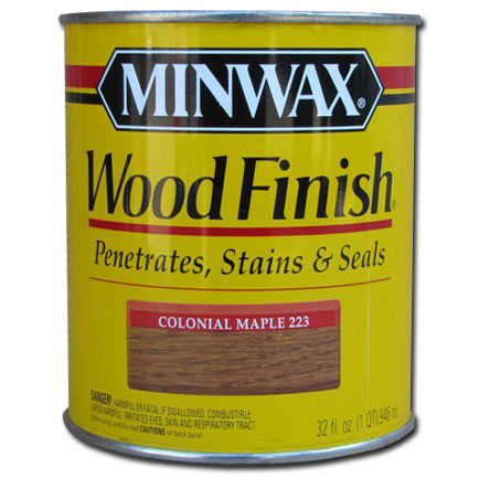 ... Wood Finish Stain Colonial Maple 223 1 qt : A-American Custom Flooring
