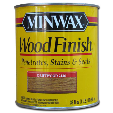 Minwax Stains : Minwax Wood Finish Stain Driftwood 2126 1 qt : A ...