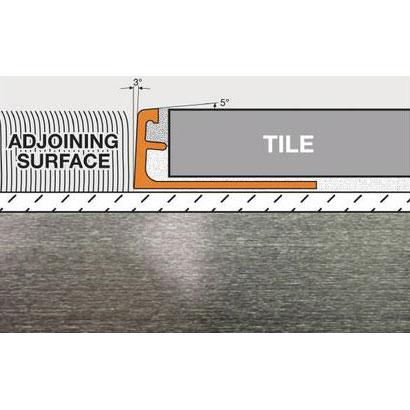 Schluter Schiene Edge Trim A100-ATB 3/8