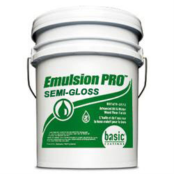 Basic Coatings Emulsion PRO Semi-Gloss Wood Floor Finish & Sealer 5 gal