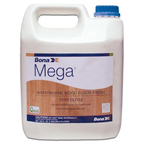 Bona Mega Waterborne Hardwood Floor Finish Semi-Gloss 1 gal