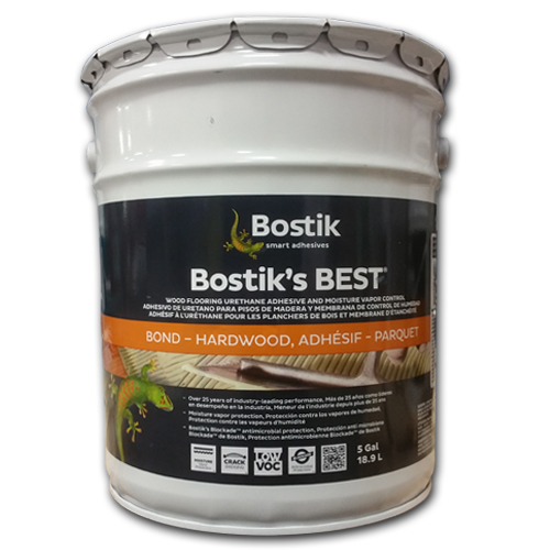 ... Bostik's Best Wood Flooring Adhesive 5 gal - Wood Glue : Bostik's Best Wood Flooring Adhesive 5 Gal : A