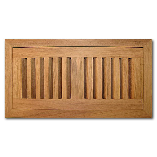 Brazilian Cherry Wood Vent Flush Mount 4