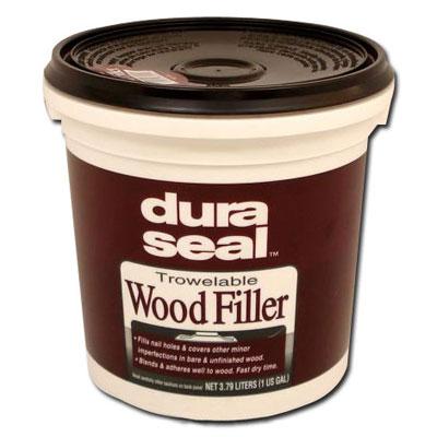 DuraSeal Wood Filler Red Oak 3.5 gal - Floor Fillers & Patches : DuraSeal Trowelable Wood Filler Red Oak