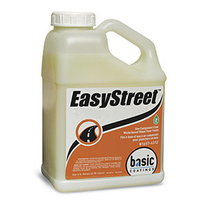 Basic Coatings EasyStreet Semi-Gloss Waterbased Wood Floor Finish 1 gal