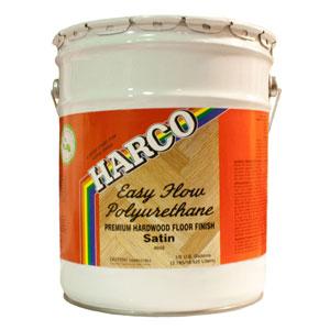 Harco 4602 VOC Easy Flow Polyurethane Satin 5 gal