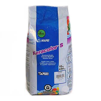 Mapei Keracolor S Pearl Gray 21910 Sanded Grout 10 lbs