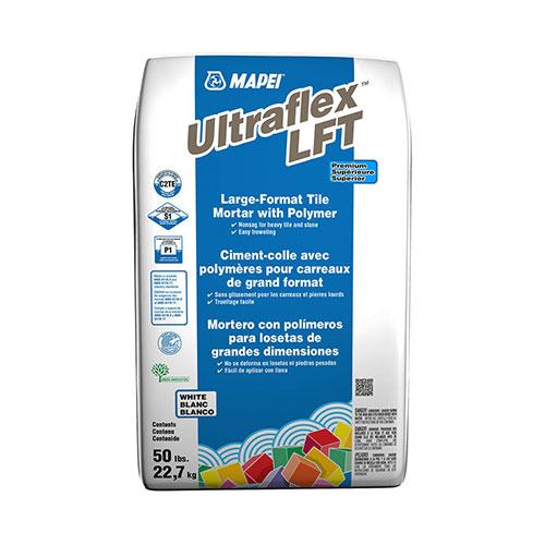 Mapei Ultraflex LFT White Mortar 50 lbs