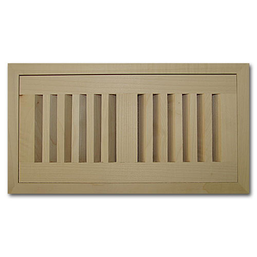 Maple Wood Vent Flush Mount With Damper 6