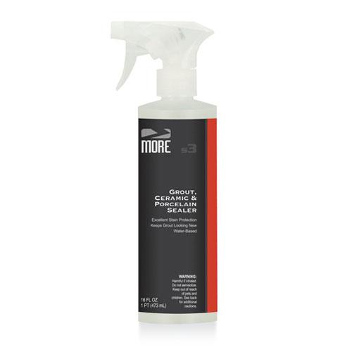 MORE Grout, Ceramic & Porcelain Sealer 16 oz Spray Bottle