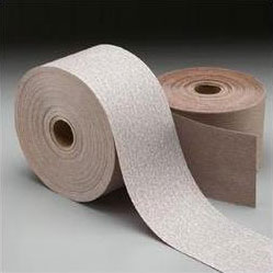 Norton Aluminum Oxide PSA Stick and Sand Sheet Rolls A275, P150 Grit, 31688, 2 3/4 in x 45 yards