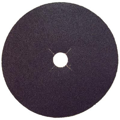 Norton Silicon Carbide Abrasive Bolt-On Edger Disc 16 Grit, 35085, 7 in x 7/8 in (H425/S413 Paper)