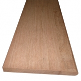 11-1/2 x 36 Unfinished Brazilian Cherry Solid Stair Tread