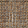 1x1 M097 Tumbled Travertine Mosaic