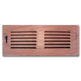 Brazilian Cherry Wood Vent Drop In 2x10 No Damper
