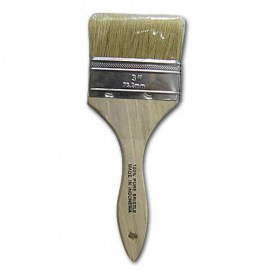 3 in Paint Brush Angled Trim
