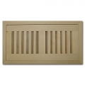 Maple Wood Vents Flush Mount With Damper 4