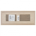 Maple Wood Vents Flush Mount With Damper 4x14