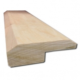 5/8x2 Unfinished Maple Square Nose Reducer