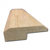 5/8x2 Unfinished Red Oak Square Nose Reducer