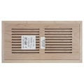 Maple Wood Vents Flush Mount 6x14