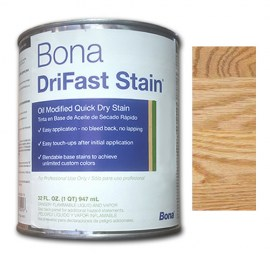 Bona DriFast Quick Dry Stain Natural 1 qt