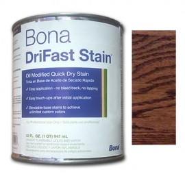Bona DriFast Quick Dry Stain Red Mahogany 1 qt