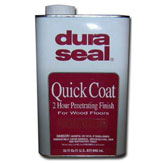 Dura Seal Quick Coat Stain Ebony 1 qt