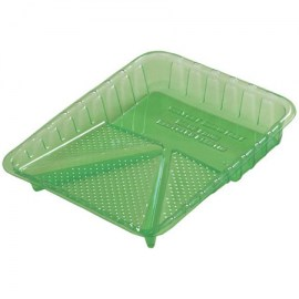 Green Plastic Paint Tray 9 in