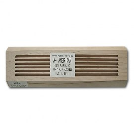 Maple Wood Vents Baseboard 15