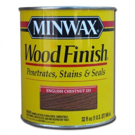Miniwax Wood Finish Stain English Chesnut 1 qt