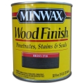 Miniwax Wood Finish Stain Ebony 1 qt