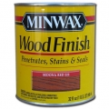 Miniwax Wood Finish Stain Sedona Red 1 qt