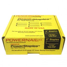 Powernail PowerStaples 2 15.5 gage hardwood flooring nails